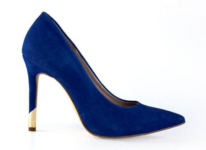 Замшевые туфли на шпильке BALDACCINI
