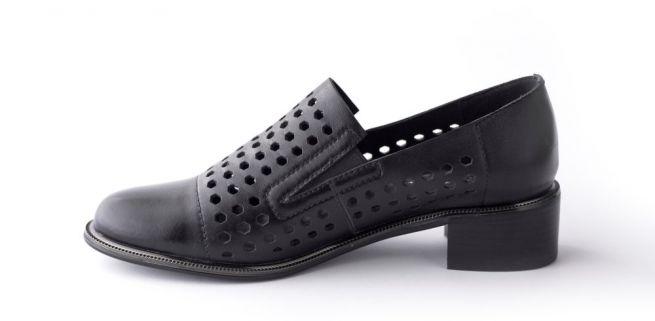 Кожаные туфли с перфорацией VERITAS 39