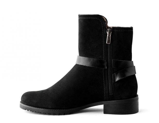 Замшевые ботинки BALDACCINI
