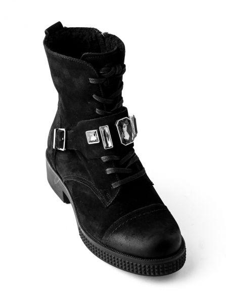 Ботинки из нубука LAURA MESSI