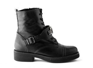 Кожаные ботинки LAURA MESSI