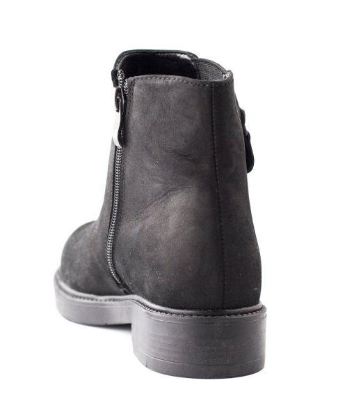 Ботинки из нубука LONZA