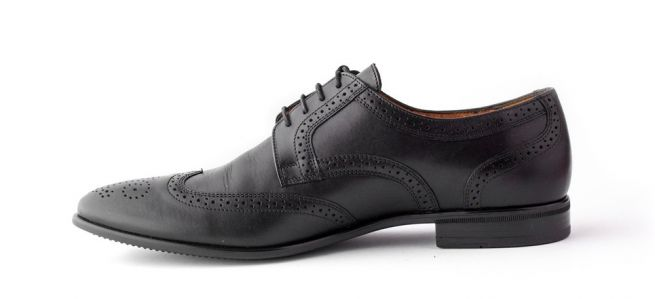 Кожаные туфли CONHPOL