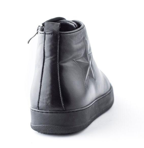 Кожаные ботинки-хайтопы VERITAS
