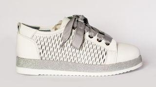 Кожаные туфли с перфорацией ALPINO