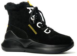 Замшевые ботинки ALLSHOES