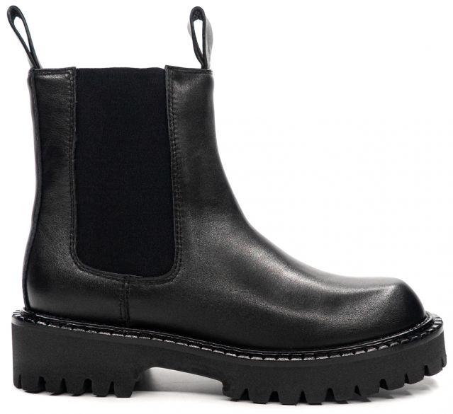 Кожаные ботинки - челси FABIO MONELLI