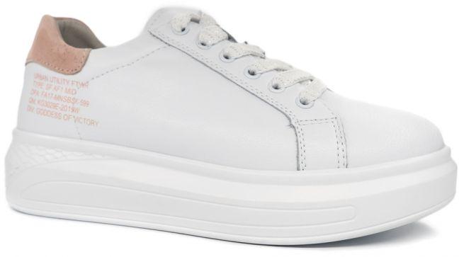 Кожаные кроссовки ALLSHOES