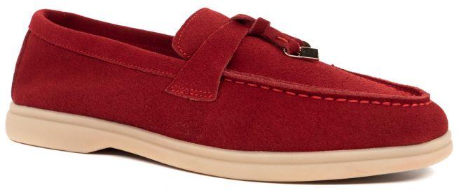 Замшевые туфли LONZA