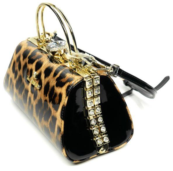 Лаковая сумка LAMSED