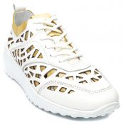 Кожные кроссовки с перфорацией  G.U.E.R.O.