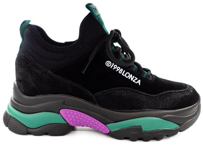 Замшевые кроссовки Lonza