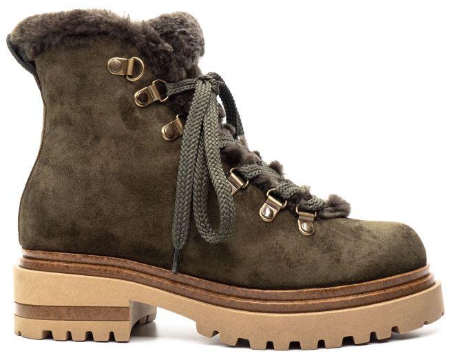 Замшевые ботинки ALPINO