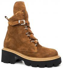 Замшевые ботинки AQUAMARIN