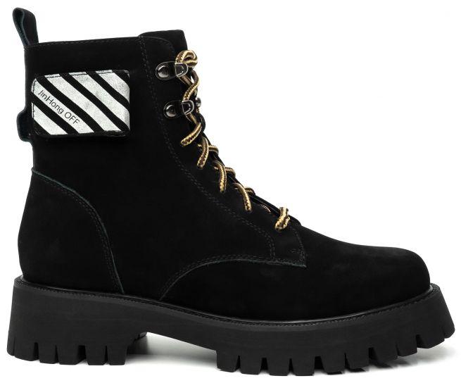 Замшевые ботинки SASHA FABIANI