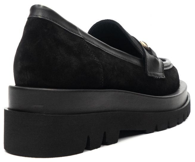 Замшевые туфли на платформе ALPINO