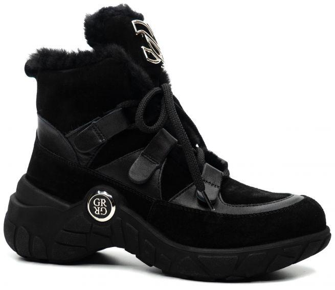 Замшевые ботинки PHANY